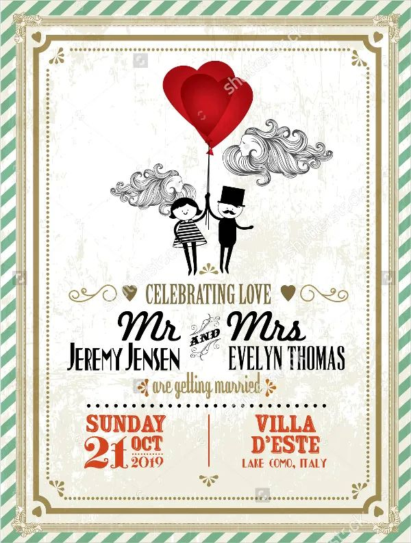 wedding invitations templates word free