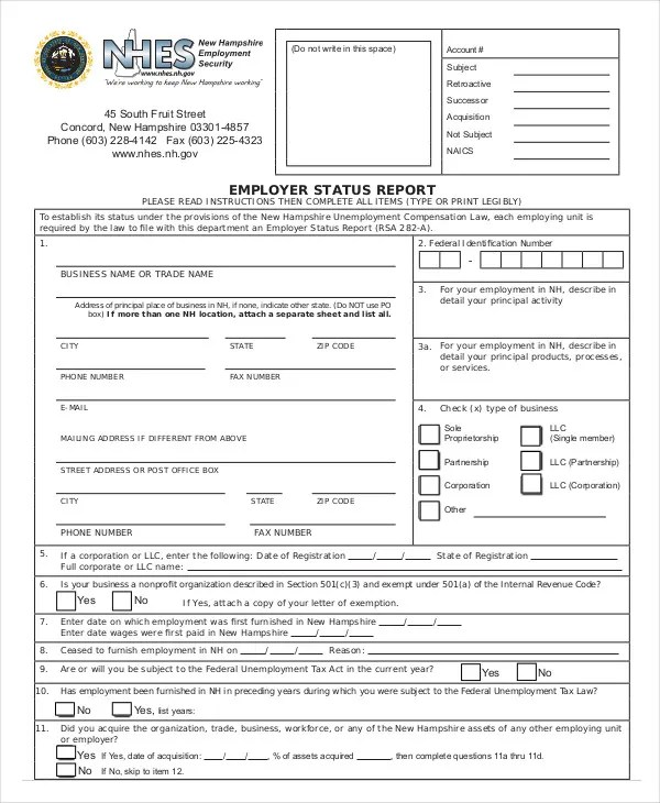 Status Report Template - 10+ Free Word, PDF Documents Download - employee status report template