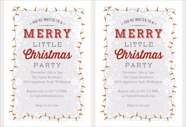21+ Christmas Party Invitation Templates - Free PSD, Vector AI, EPS