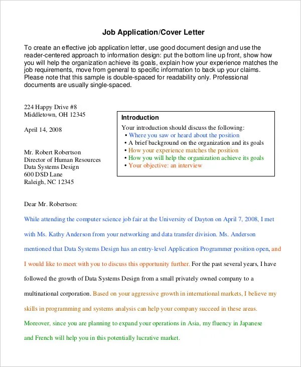 Employment Cover Letter Professional Cover Letter Template - All - dental hygienist cover letter
