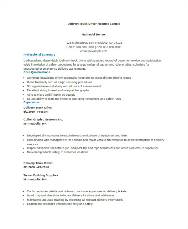 long haul truck driver resume 3slufsluidsprekers