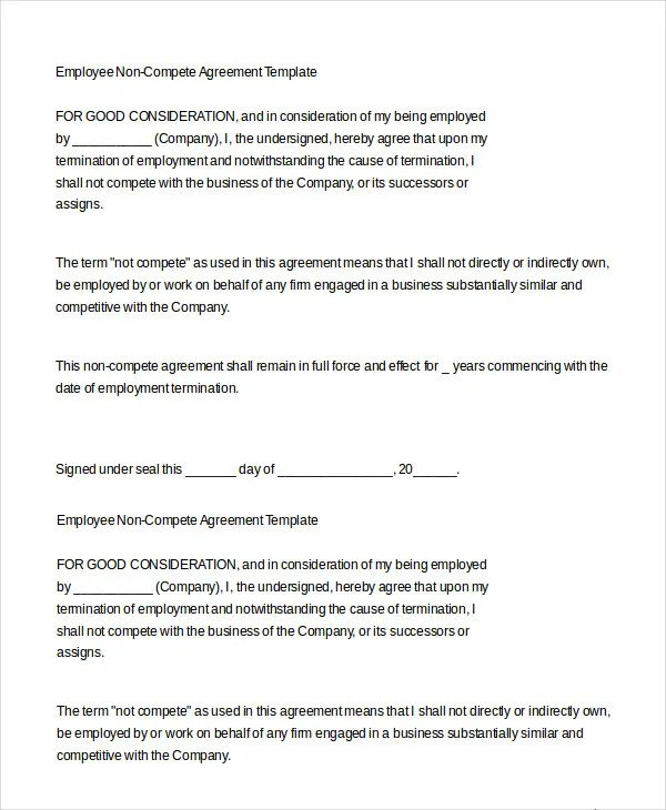 Employment Agreement Template - 9+ Free Sample, Example, Format - employment termination agreement