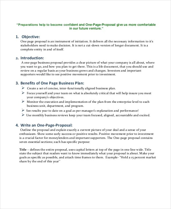 Business Proposal Templates - 31+ Free Word, PDF, PSD Documents