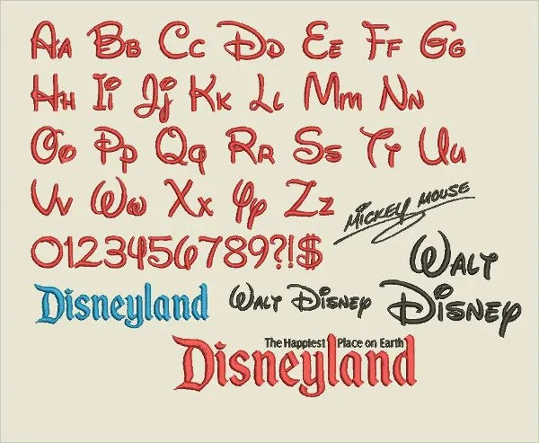 14+ Mickey Mouse Fonts - Free TTF, OTF Format Download Free
