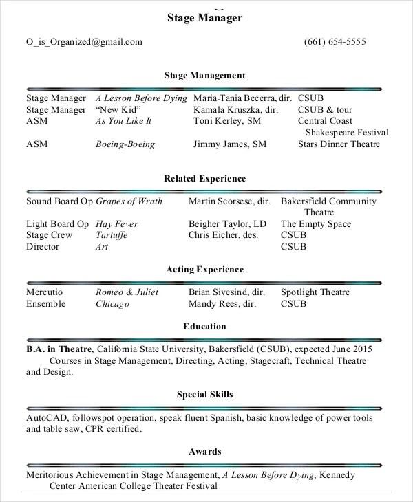 37+ Printable Resume Templates - PDF, DOC Free  Premium Templates - picture resume template