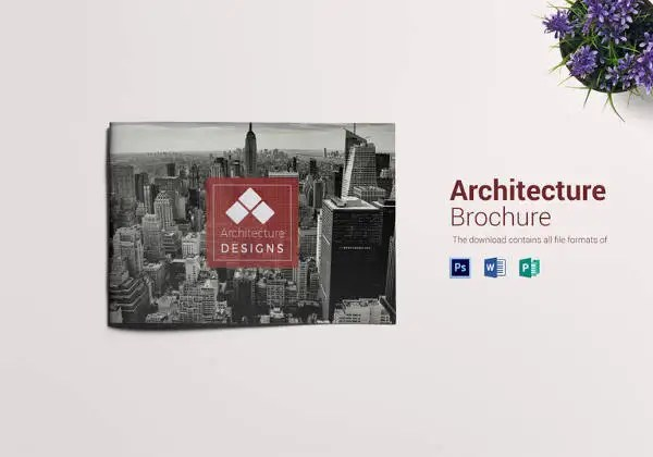 25+ Landscape Brochures - Free PSD, EPS, AI Format Download Free - architecture brochure template
