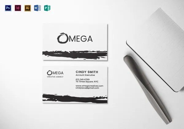 28+ Blank Business Card Templates - Free PSD, AI, Vector, EPS Format