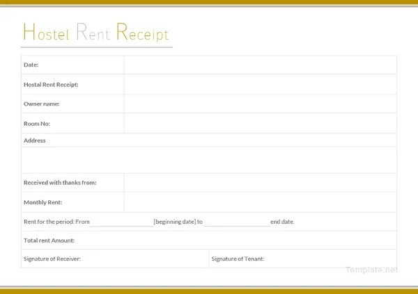 15+ Rent Receipt Templates - DOC, PDF Free  Premium Templates