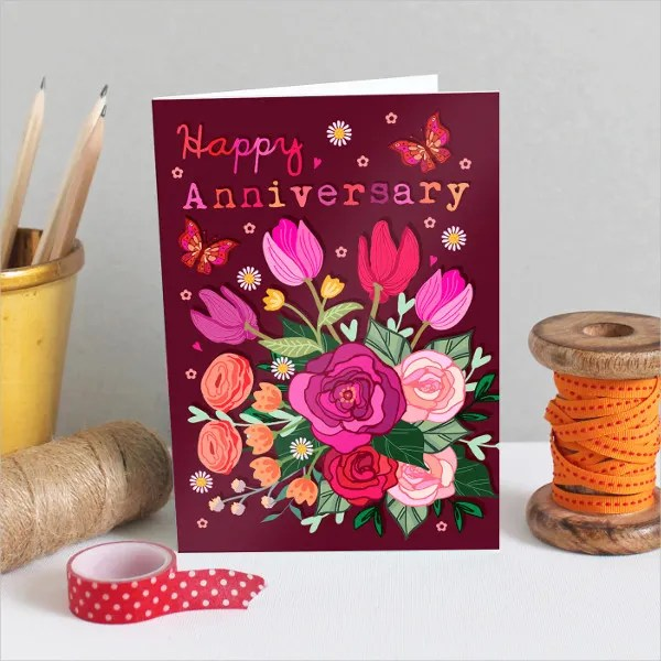 20+ Happy Anniversary Cards - Free PSD, Vector AI, EPS Format - printable wedding anniversary cards