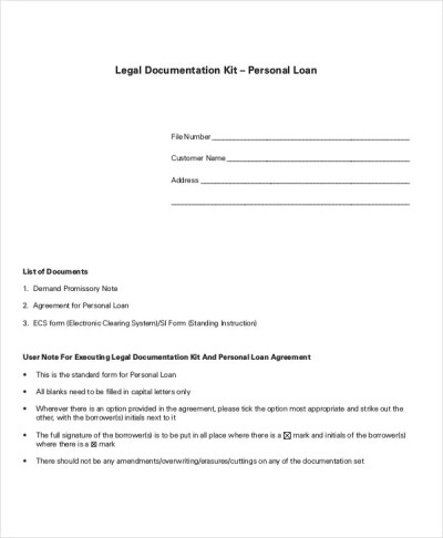 Loan Agreement Template - 17+ Free Word, PDF Document Download | Free & Premium Templates