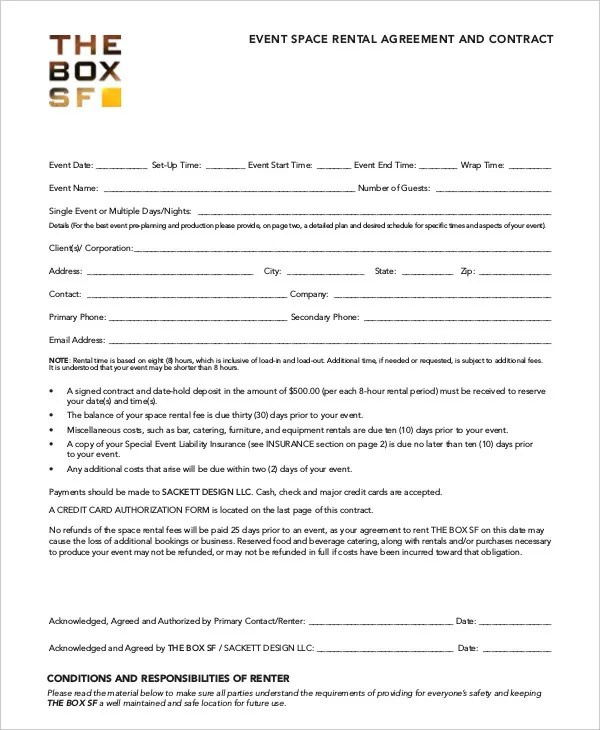 Room Rental Agreement - 17+ Free Word, PDF Documents Download Free - Room Rental Agreement Form