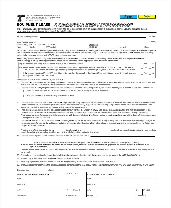 Commercial Lease Agreement - 10+ Free PDF, Word Documents Download - commercial lease agreement template