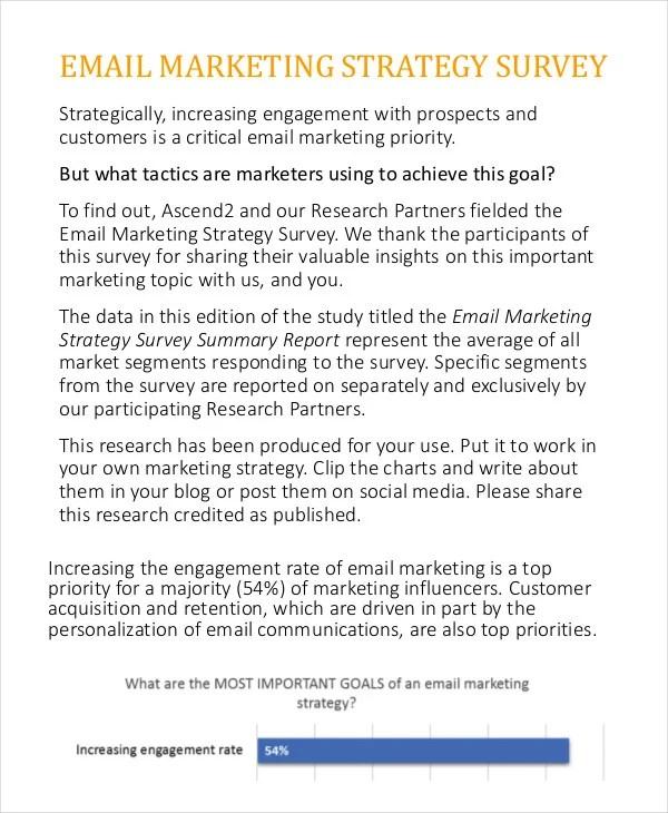 sample marketing report template