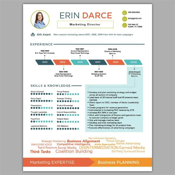 18+ Infographic Resumes - Free PSD, Vector AI, EPS Format Download