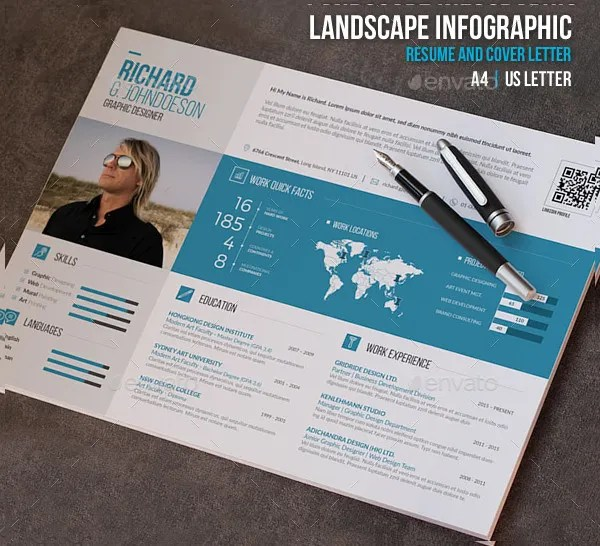 Resume Outline Layout Blank Template Outlines 18 Infographic Resumes Free Psd Vector Ai Eps Format