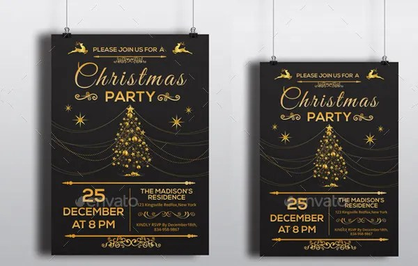 19+ Holiday Party Invitations - Free PSD, Vector AI, EPS Format - holiday party invitations free
