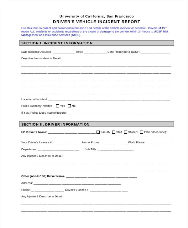 Office Incident Report adefisjuventudinternacional - incident reporting template