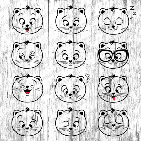 21+ Best Cat Emojis Free  Premium Templates