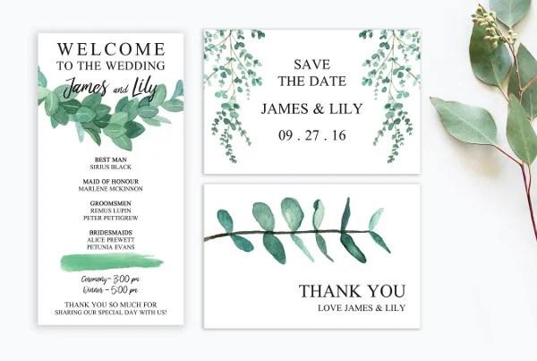 27+ Watercolor Wedding Invitations Free  Premium Templates
