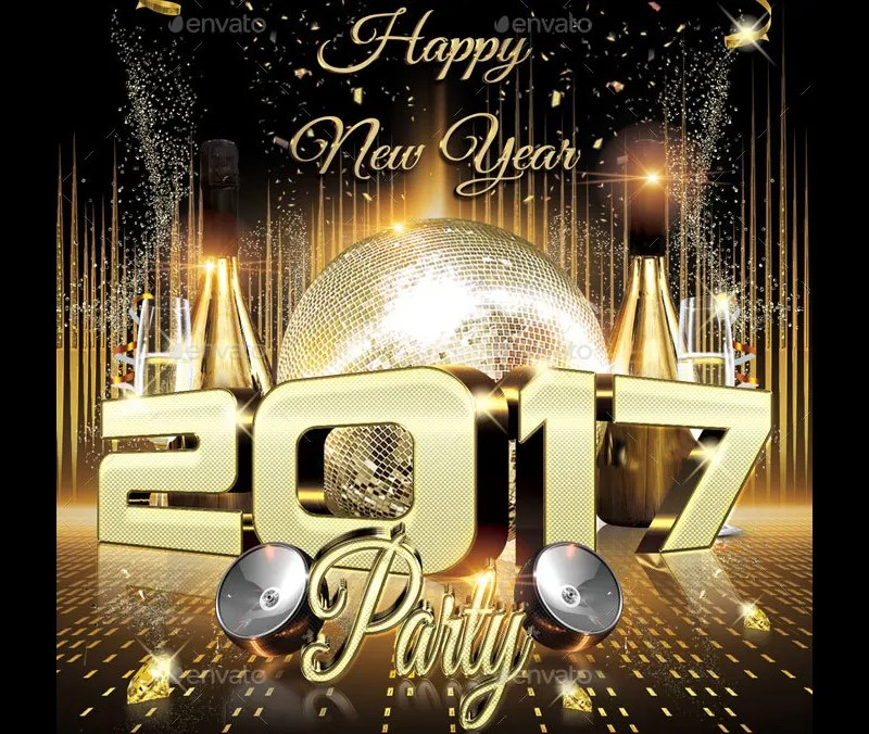 20+ 2017 New Year Flyer Templates Free  Premium Templates - free new years eve flyer template