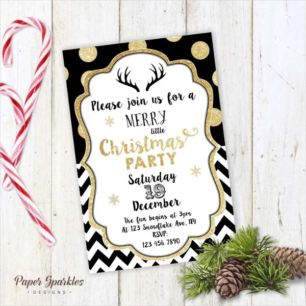 20+ Christmas Party Invitation Templates+ Christmas Party Invitation