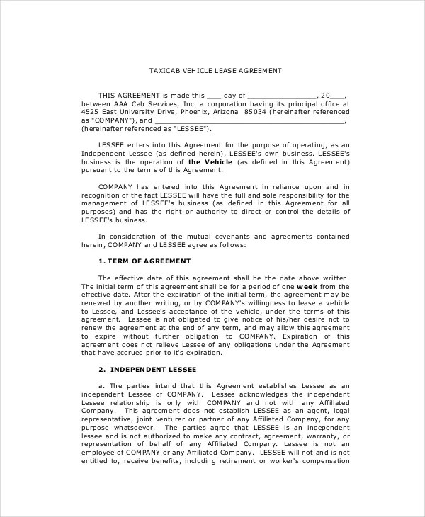 Lease Purchase Agreement - 9+ Free PDF, Word Documents Download