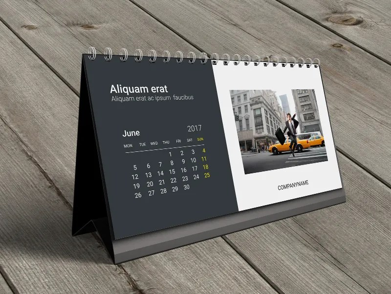 Table Calendar Design Templates Free Download Google