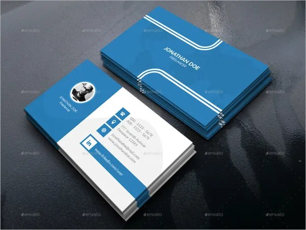 28+ Best Personal Business Card Templates - Word, AI, Pages Free