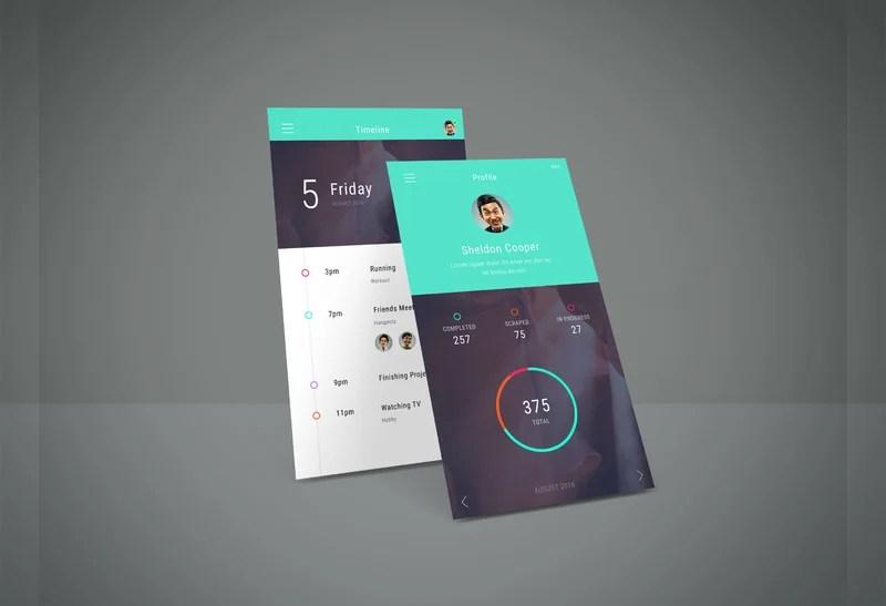 20+ Free PSD App Screen Mockups Free  Premium Templates