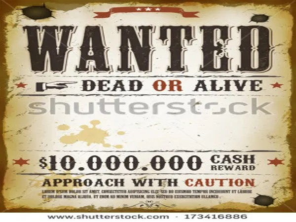 Cozy 25 Free Wanted Poster Templates Photoshop Pdf Google Docs Word ...