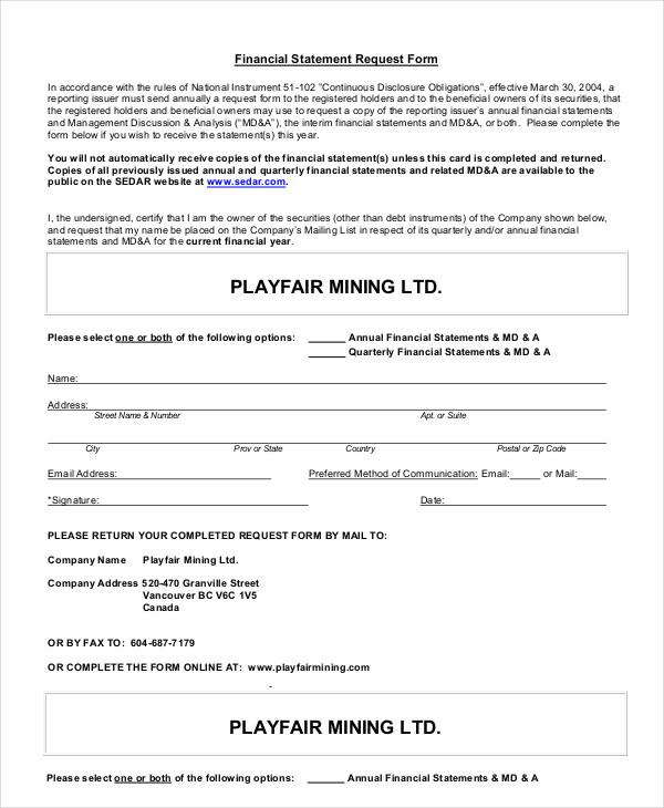 Statement Form In Pdf Sba-Financial-Statement-Form Sample - billing statement template