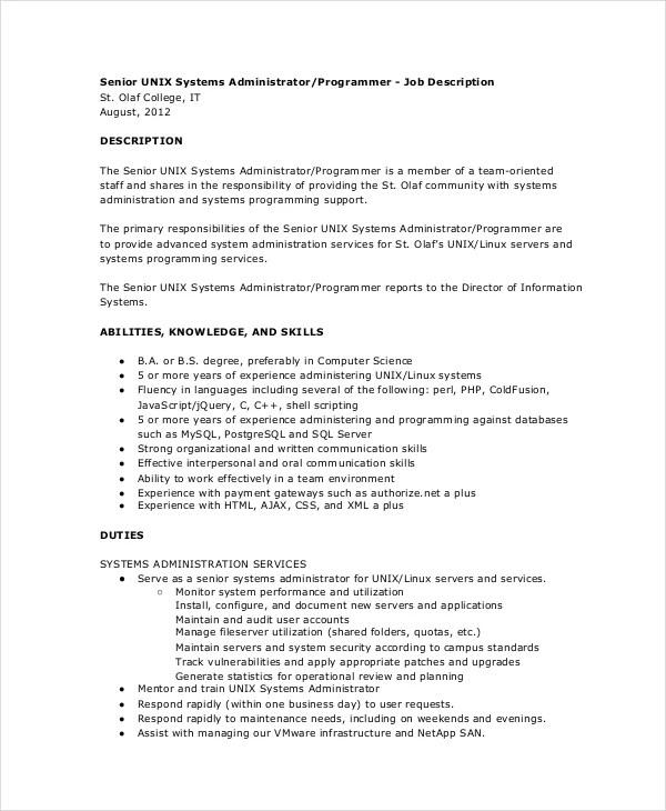 System Programmer Job Description Job Brief Systems Engineer Job - system programmer job description