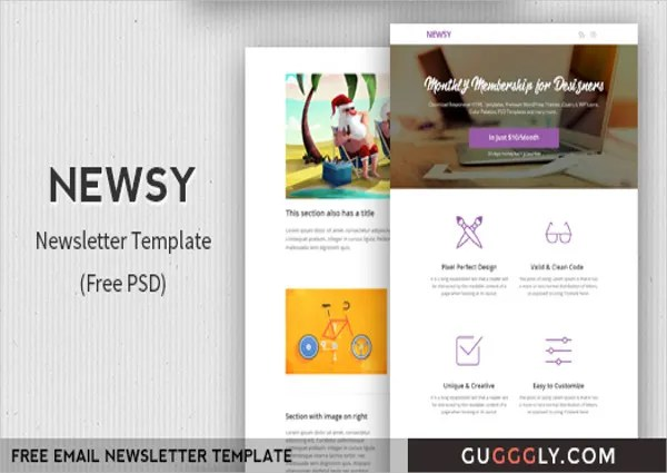 34+ Free Newsletter Templates - Free PSD, AI, Vector, EPS Format
