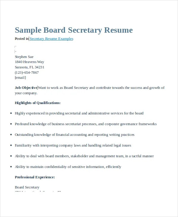 bilingual legal secretary resume - Legal Secretary Resume Template