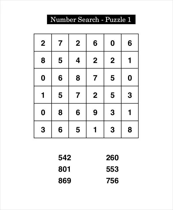 Free Printable Crossword Puzzle - 14+ Free PDF Documents Download