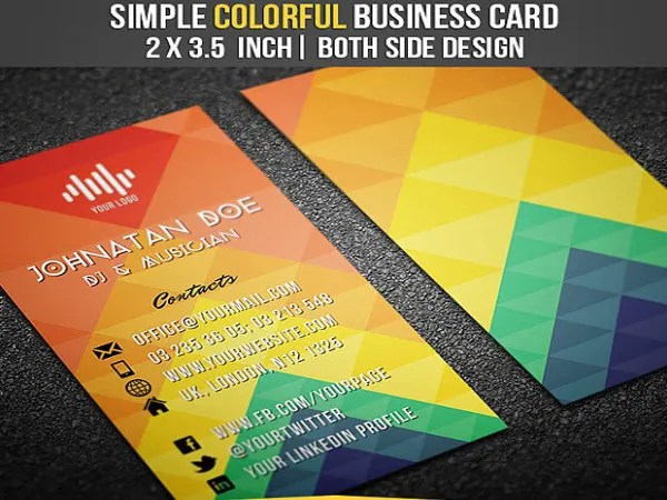 19+ Dj Business Cards - Free PSD, AI, Vector, EPS Format Download