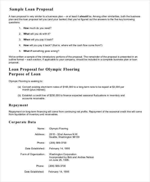 Business Proposal Template - 16+ Free Sample, Example, Format Free - free sample business proposals