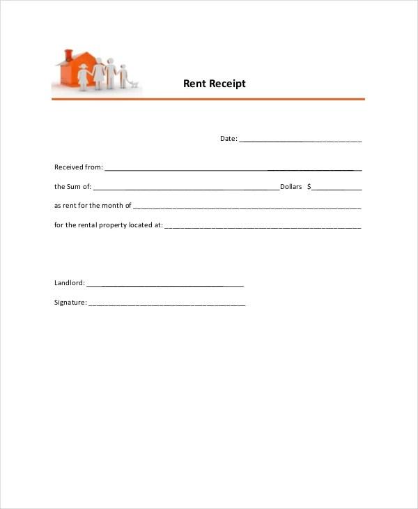 5+ Rent Receipt Templates - PDF Free  Premium Templates