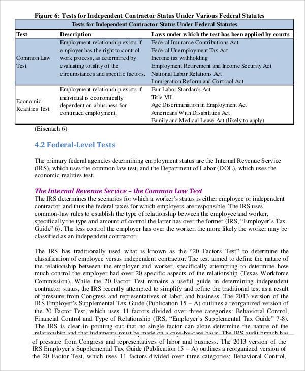 Sample Independent Contractor Agreement Sales Representative – Export Agreement Sample