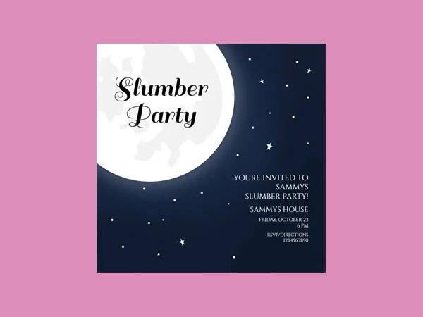 pajama party invitations free printable - Canasbergdorfbib