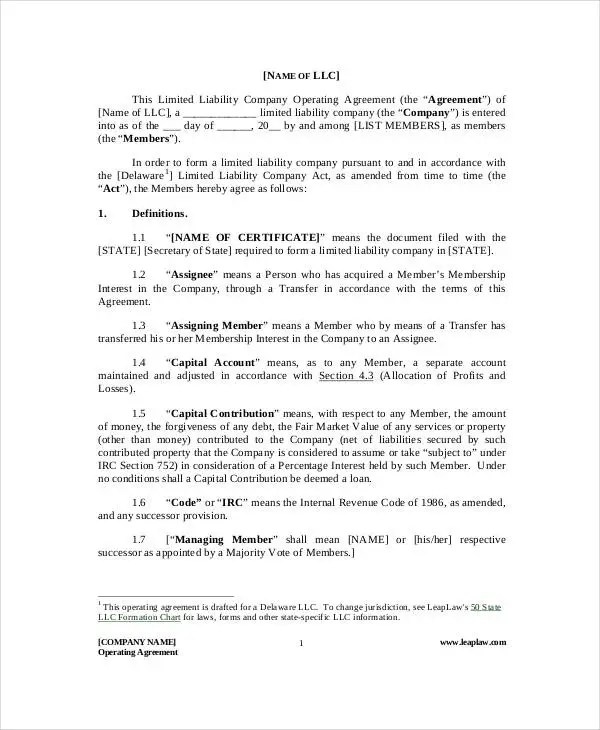 General Partnership Agreement - 9+ Free PDF, Word Documents Download