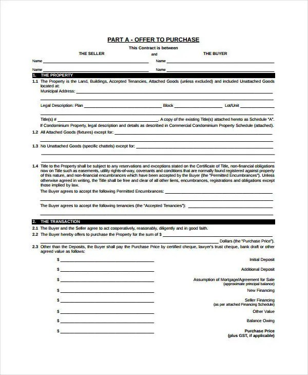 Real Estate Form - 9+Free Sample, Example, Format Free  Premium
