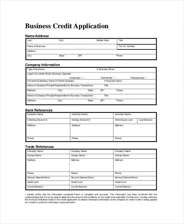 Business Forms - 8+ Free Word, PDF Documents Download Free