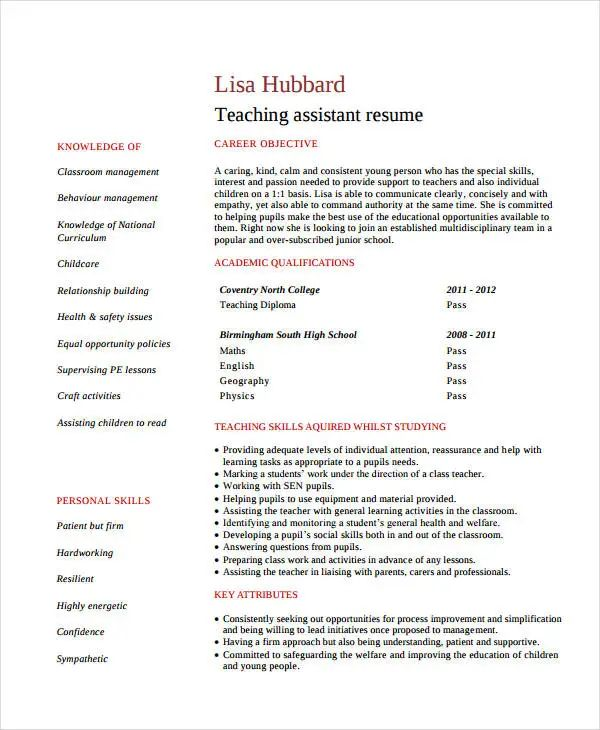 resume sample for office assistant position