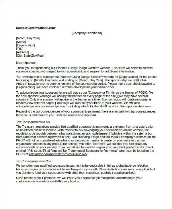Office Of Financial Assistance Ohio Epa Confirmation Letter 16 Free Word Pdf Documents