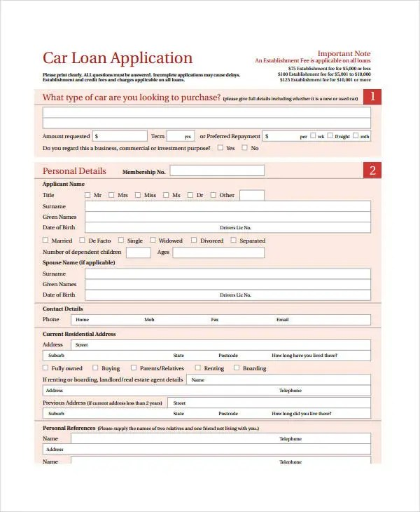Personal Loan Agreement - 8+ Free PDF, Word Documents Download - personal loan document template