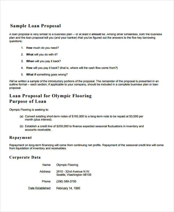 24+ Business Proposal Format Templates - PDF, DOC Free  Premium
