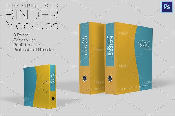 8+ Binder Cover Templates - PSD, Vector AI, EPS Free  Premium