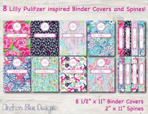 8+ Binder Cover Templates - PSD, Vector AI, EPS Free  Premium