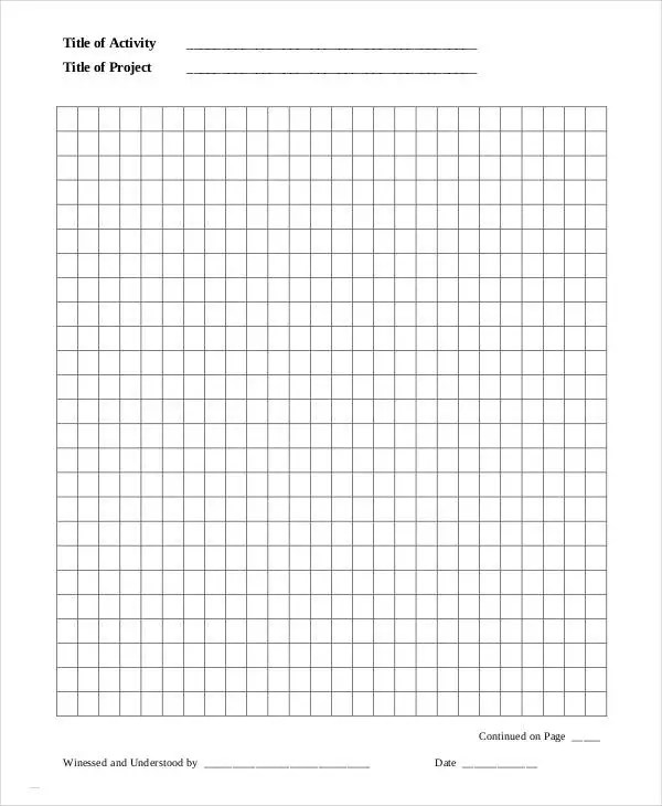 Printable Notebook Paper - 9+ Free PDF Documents Download Free